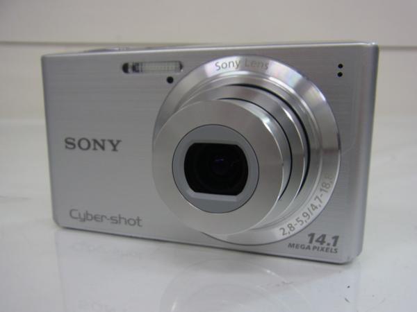 /C985 ★SONY 【 Cyber-shot DSC-W610 】 シルバー 1410万画素