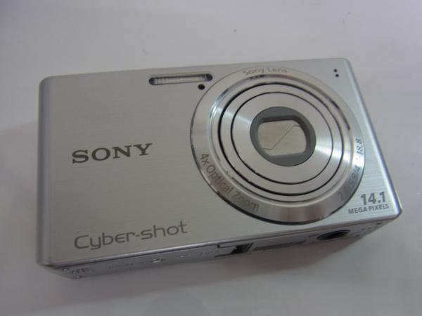 /C985 ★SONY 【 Cyber-shot DSC-W610 】 シルバー 1410万画素_画像3