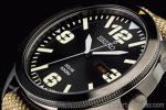 1円 セイコー 逆輸入 ソーラー 日本未発売 ブラック&ミリタリー 腕時計