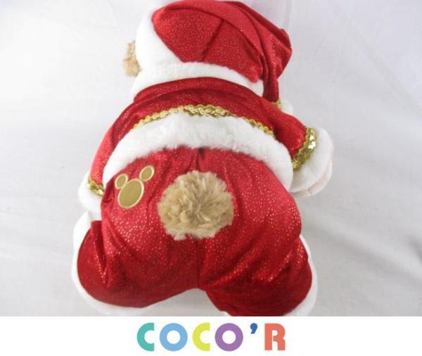 ディズニー ダッフィー クリスマス 2009 ぬいぐるみ Sサイズ_画像3