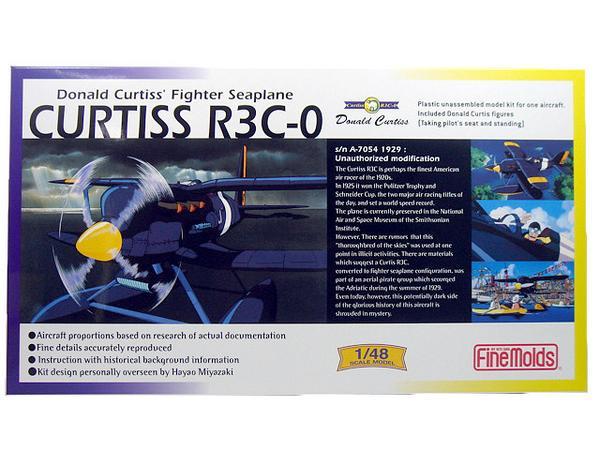 【TORAYA】 即決 1/48 紅の豚 カーチスR3C-0 非公然水上戦闘機 グッズの画像