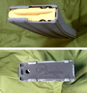 米軍US ARMY陸軍US MC海兵隊US AVYN海軍US AIR FORCE空軍アフガニスタン戦争M-4&M-16ライフル30連マガジン5.56mm新型未使用希少品3190 _30連マガジン