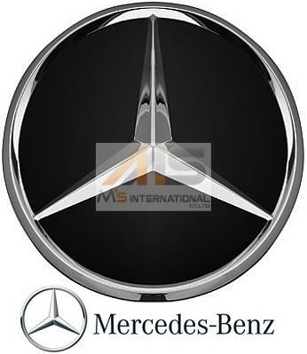 【M's】ベンツ AMG 純正品 ホイールセンターキャップ 1個 BK/CR(74mm)W169 W176 W245 W246 W203 W204 W205 W163 W164 W251 R170 R171 R172_画像1