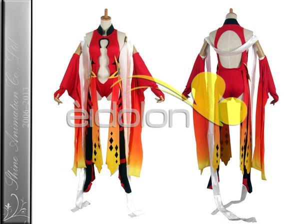 EE0001AD ギルティクラウン 楪祈 戦闘服 コスプレ衣装 グッズの画像