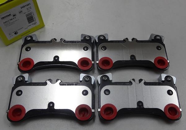 ポルシェ カイエン 955/TEXTAR製 リヤブレーキパッド左右_画像1