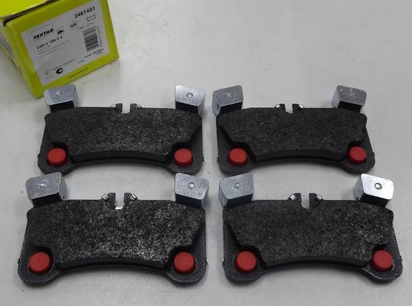 ポルシェ カイエン 955/TEXTAR製 リヤブレーキパッド左右_画像2