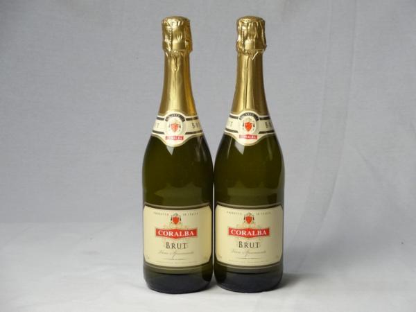 スパークリングワイン辛口2本セット コラルバ ブリュット(イ_画像1