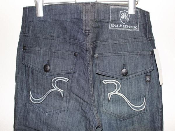 ロック&リパブリック Rock&Republic メンズデニムパンツ ジーンズ 33インチ RLN3850 CMDO 新品_画像5