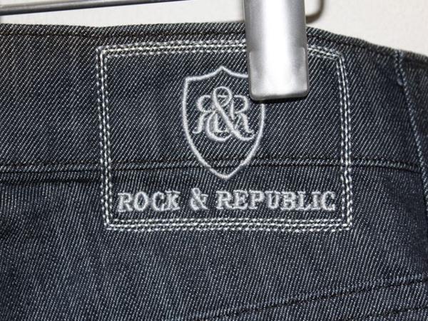 ロック&リパブリック Rock&Republic メンズデニムパンツ ジーンズ 33インチ RLN3850 CMDO 新品_画像6