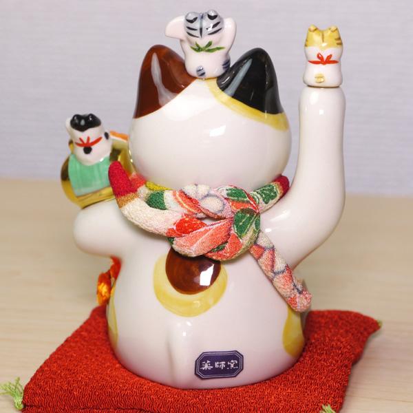 ☆新品☆招き猫 招福大開運☆高さ/約11.5cm(4号)_画像3