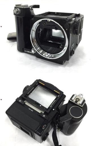 ZENZABRONIKA ゼンザブロニカ フィルムカメラ ETRS 6×4.5版 フィルムカメラ_画像2