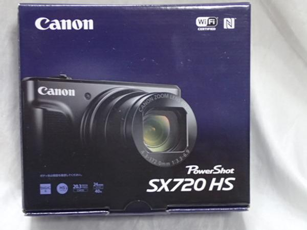 【新品未使用品】  PowerShot SX720 HS canon キャノン 黒 ブラック
