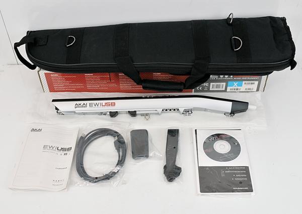 未使用保管品◆ AKAI EWI USB ウインドUSBコントローラー◆【zd670