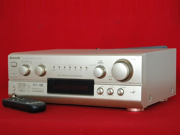 【Panasonic/パナソニック/AVコントロールアンプ/SA-DX930/現状品】音響機器_画像1