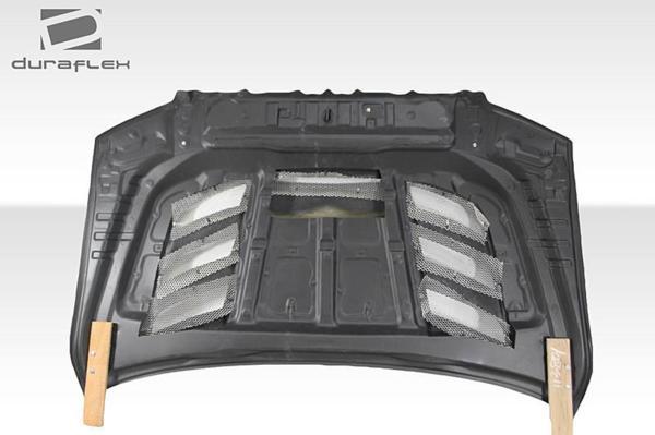 2007-2013 トヨタ タンドラ Duraflex バイパー仕様 ダクトボンネット/ カウルフード FRP製 未塗装_画像3