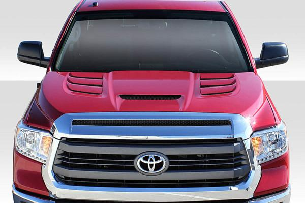 2007-2013 トヨタ タンドラ Duraflex バイパー仕様 ダクトボンネット/ カウルフード FRP製 未塗装_画像1
