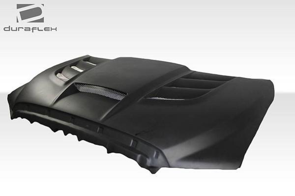 2007-2013 トヨタ タンドラ Duraflex バイパー仕様 ダクトボンネット/ カウルフード FRP製 未塗装_画像2