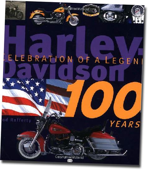 洋書 ハーレー・ダビッドソンの100年/ Harley-Davidson 100 Years: Celebration of a Legend(輸入品_画像1