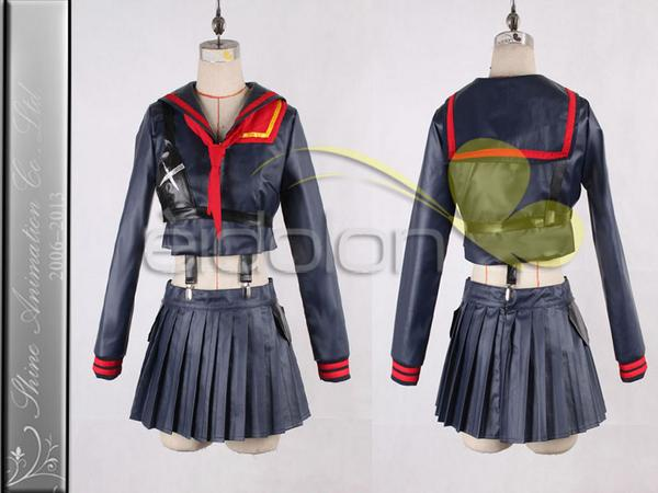 EE0289AA キルラキル 纏流子 コスプレ衣装 グッズの画像