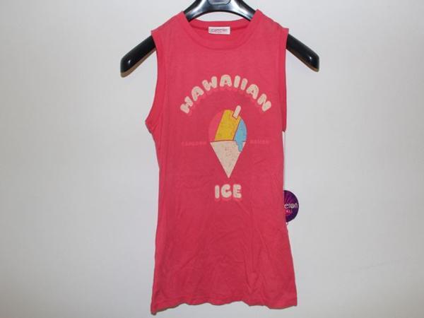キャメロンハワイ Cameron Hawaii レディースノースリーブTシャツ Lサイズ NO1 新品_画像2