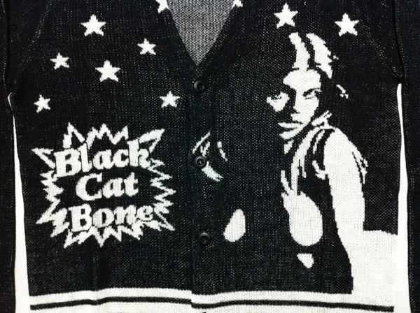 特価ヒステリックグラマーBLACK CAT BONEジャカードカーディガン_画像2