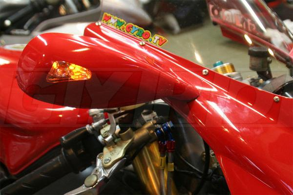 DUCATI ドゥカティ 748 916 996 998 LED ウインカー ミラー !!_画像2