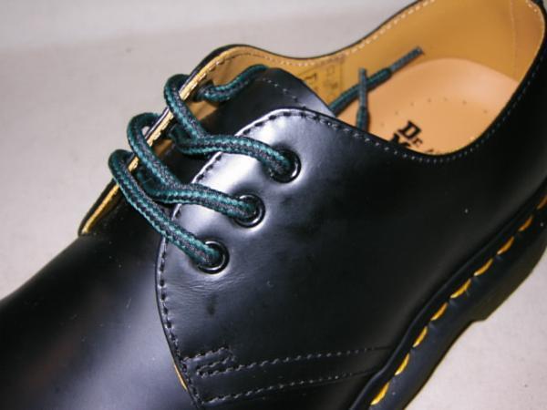 靴紐ドクターマーチン貴重3ホール用ジョージコックスにも可能8