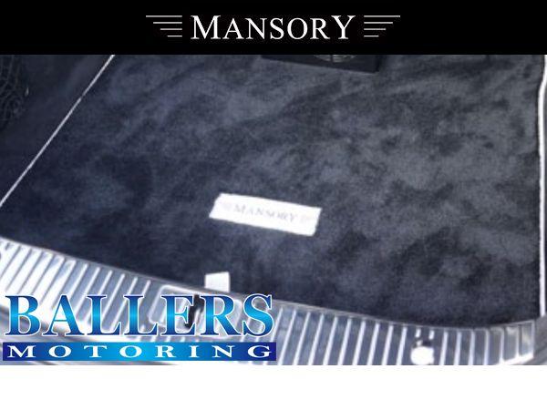 MANSORY BENZ W217 Sクーペ トランクマット( 内装 エアロ )_画像1