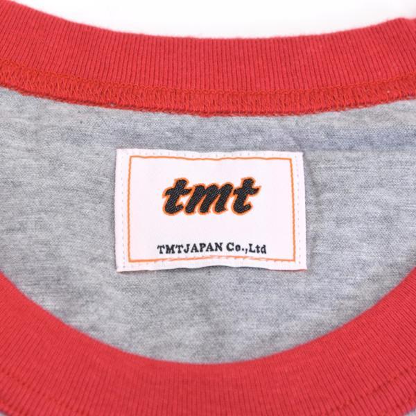 【福岡1周年記念】新品 限定 TMT ティーエムティー H/SL T-SHIRT 七分袖Tシャツ ラグランスリーブTシャツ レッド 赤 サイズ:L タグ付き_画像3