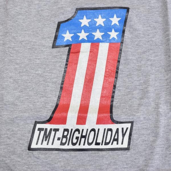 【福岡1周年記念】新品 限定 TMT ティーエムティー H/SL T-SHIRT 七分袖Tシャツ ラグランスリーブTシャツ レッド 赤 サイズ:L タグ付き_画像5