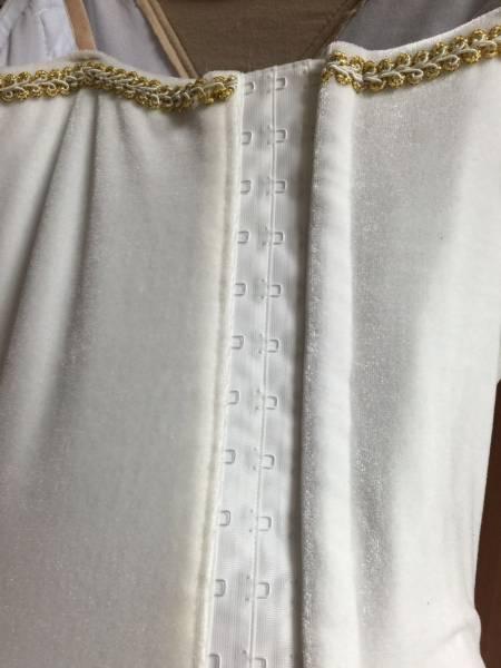 送料無料大人Lバレエ舞台衣装♪白いお姫様系♪9層チュチュ♪_画像4