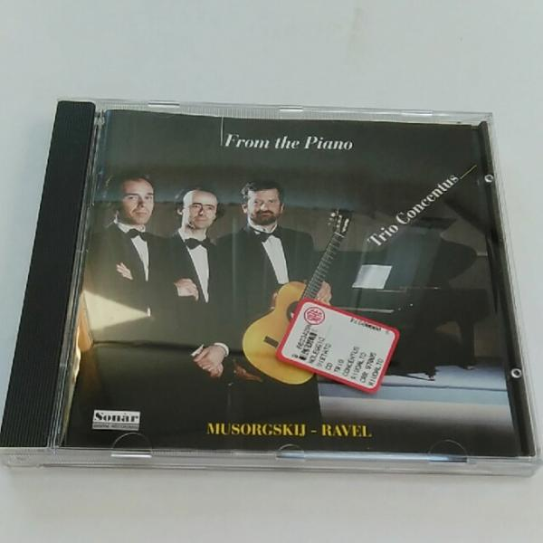 Trio Concentus / From the Piano CD benedetto palamidessi tallini ムソルグスキー ラベル_画像1