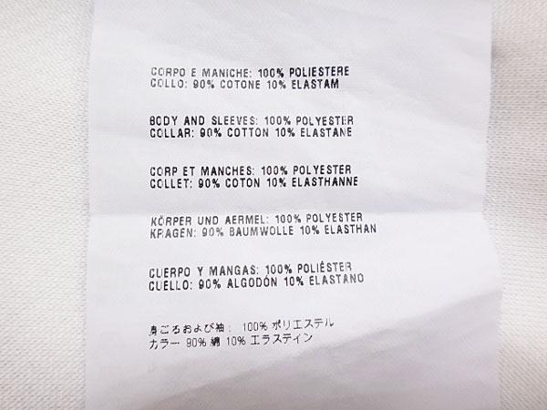 ★070610【プラダスポーツ】春夏★胸ポケット付き半袖Tシャツ★トップス★M★白★メンズ★PRADA SPORT_画像5