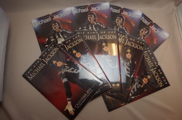 K17010916YM●○Michael Jackson マイケル ジャクソン カレンダー 2010年 2種9冊 未開封○●