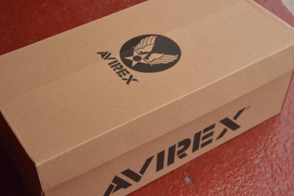 正規 AVIREX スニーカー スリッポン メンズ シューズ FREEDOM アビレックス フリーダム AV3522 ブラックカモ 26.0cm_画像8