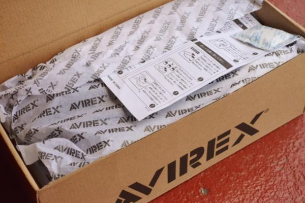 正規 AVIREX スニーカー スリッポン メンズ シューズ FREEDOM アビレックス フリーダム AV3522 ブラックカモ 26.0cm_画像9