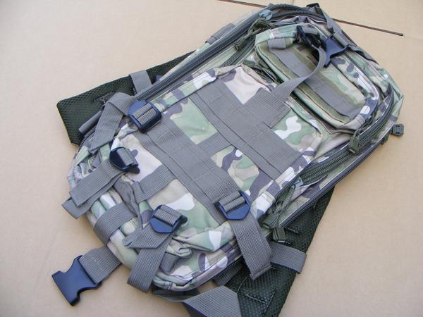 ■ 完全在庫処分価格!サバゲ-US BDU Assault BAG アサルトバックPAK A 迷彩仕様 新品未使用品!_BDU A