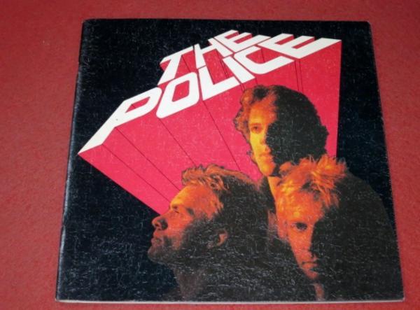 0317お3■ツアーパンフ■ポリス 1981年日本公演 スティング(送料無料