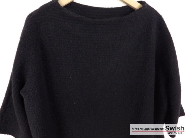 Z103■Traditional Weatherwear トラディショナルウェザーウェア■LOW BOTTLE NC D/SLV OP ウール ワンピース 黒■_画像2