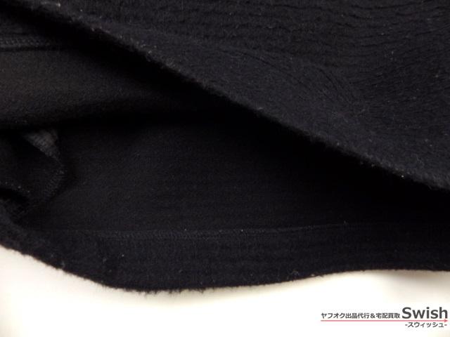 Z103■Traditional Weatherwear トラディショナルウェザーウェア■LOW BOTTLE NC D/SLV OP ウール ワンピース 黒■_画像5