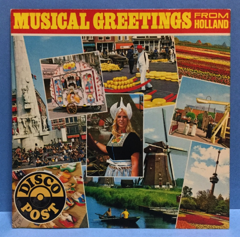 ソノシート その他 DISCO POST Musical Greetings From Holland_画像1