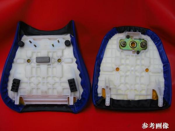【日本製】■GSX1300R 隼/ハヤブサ (メイン/タンデム) ノンスリップ シートカバー表皮 ピースクラフト RU_切れ難い特殊加工糸使用です。