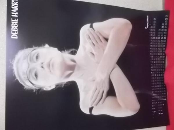 4AC37 「DEBBIE HARRY」ポスター 東芝EMI/84x59cm
