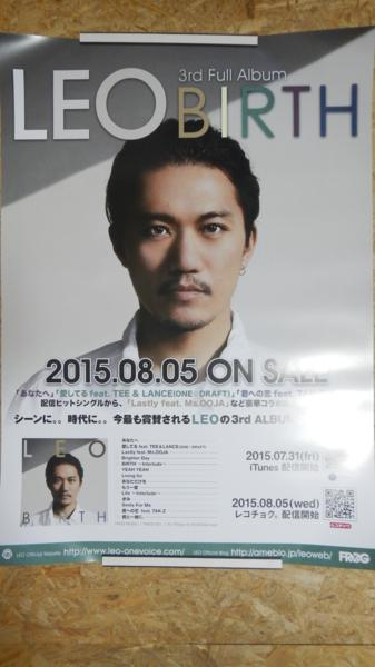 B11■LEO BIRTH ポスター 非売品