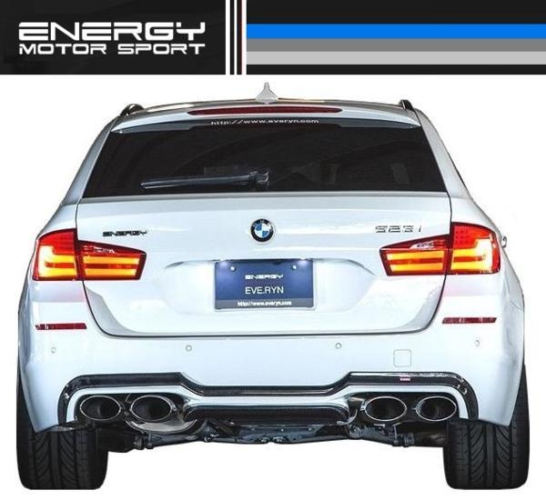 【M's】 BMW F11 ENERGY リア ディフューザー FRP + カーボン_画像4