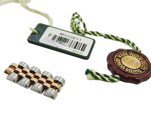 ロレックス 極美品 ROLEX デイトジャスト レディース 腕時計 179171 PG×SS M番 付属品有_画像8