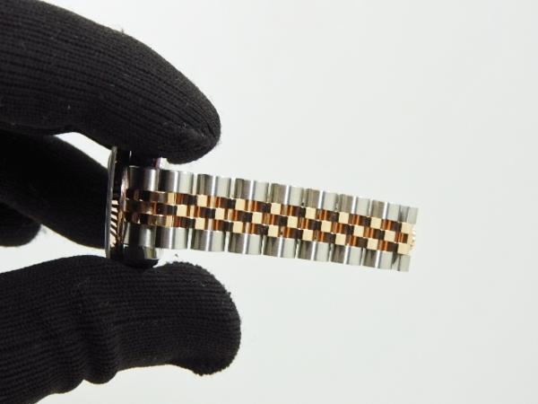 ロレックス 極美品 ROLEX デイトジャスト レディース 腕時計 179171 PG×SS M番 付属品有_画像7
