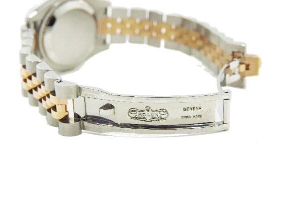 ロレックス 極美品 ROLEX デイトジャスト レディース 腕時計 179171 PG×SS M番 付属品有_画像5