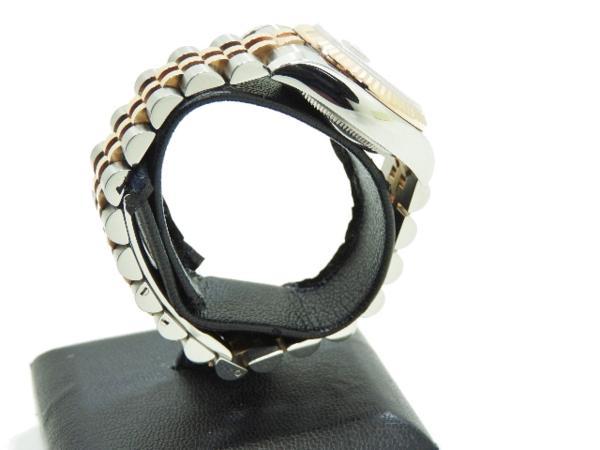 ロレックス 極美品 ROLEX デイトジャスト レディース 腕時計 179171 PG×SS M番 付属品有_画像4
