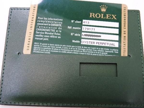 ロレックス 極美品 ROLEX デイトジャスト レディース 腕時計 179171 PG×SS M番 付属品有_画像9